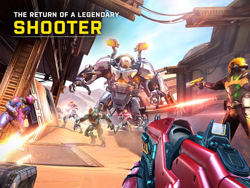 SHADOWGUN LEGENDS: Multiplayer FPS Shooting game Screenshot 16