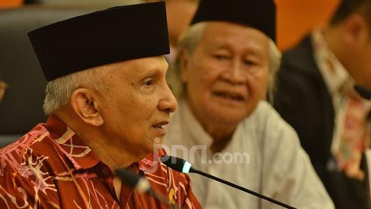 Amien Rais Rontok Dikuliti Eks Anak Buah SBY, Mencengangkan!