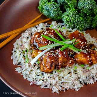 General Tso's Chicken (Gluten-Free option).