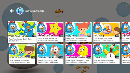 YouTube Kids for Android TV- screenshot thumbnail