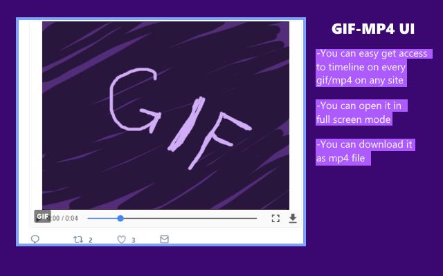 GIF-MP4 UI