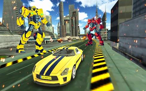 Car Robot Multi Transformation: Robot Strike 4
