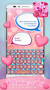 Valentine's Day Love Keyboard screenshot 5