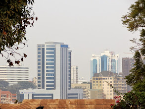 Photo: Kampala - view on Nakasero hill