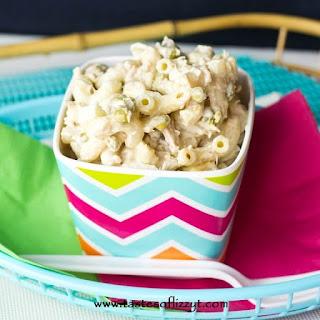 Classic Tuna Macaroni Salad.