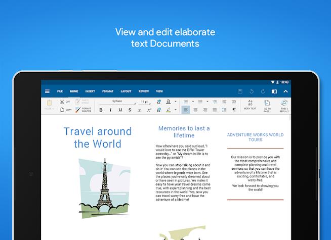 OfficeSuite Pro + PDF (Trial) Screenshot