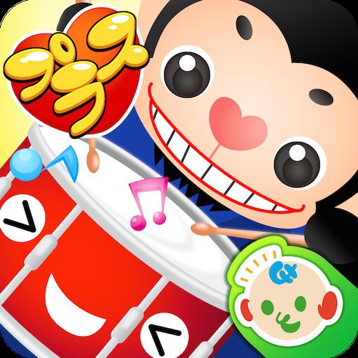 教育のタッププラス 赤ちゃん幼児子供向けのアプリ リズムゲーム無料 LOGO-記事Game