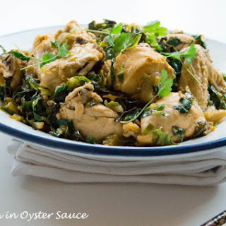 Garlic Oyster Sauce Chicken Recipes.