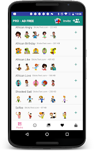 Sticker Packs For Whatsapp v2018 Mod APK 4