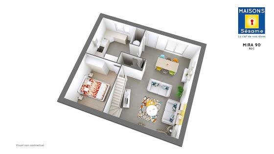 Vente terrain à bâtir 419 m2