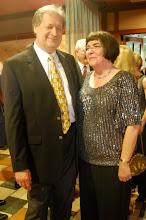 Photo: Daniel Spalding (new AYPO Music Director), Margaret Adams (AYPO Board President)