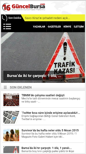 Güncel Bursa Haber