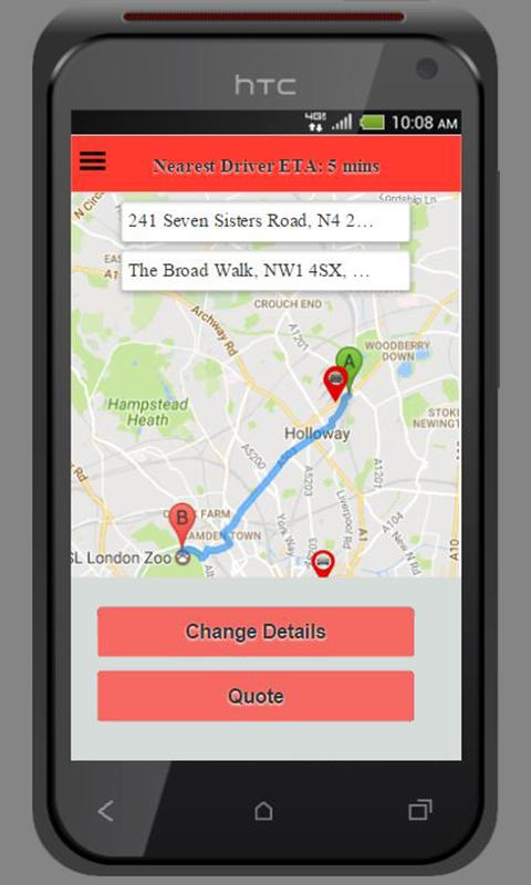 Safari Minicab- screenshot