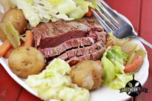 """Slow Cooker Corned Beef and Cabbage""""This easy preparation results in a super..."""