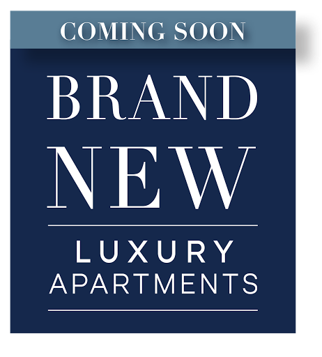 Coming Soon! Brand New + Luxury Apartments
