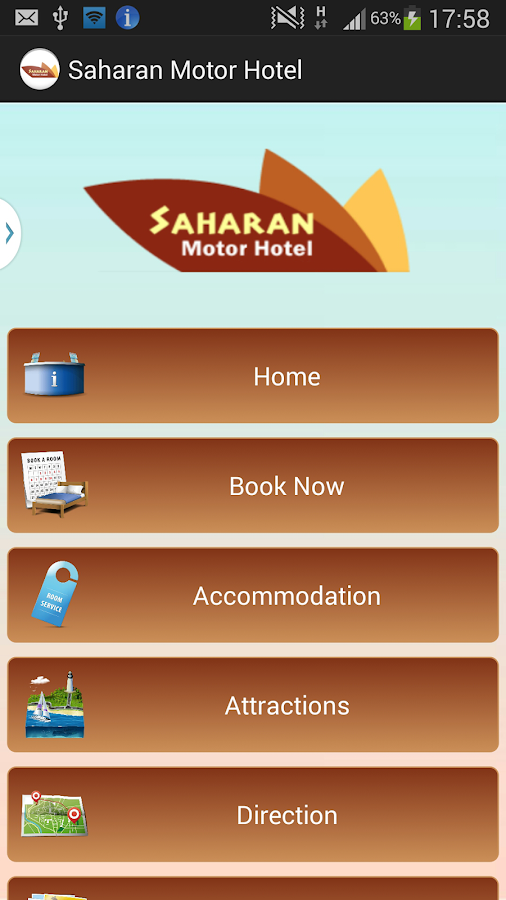 Saharan Motor Hotel- screenshot