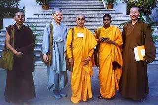 Photo: Nuns from Ladakh, Korea, Sri Lanka and Taiwan discover much common ground.