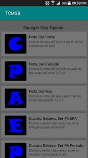 NotasCMSB screenshot