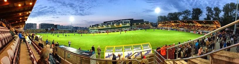 Photo: 28/09/2013 - Voetbalstadion Oostende