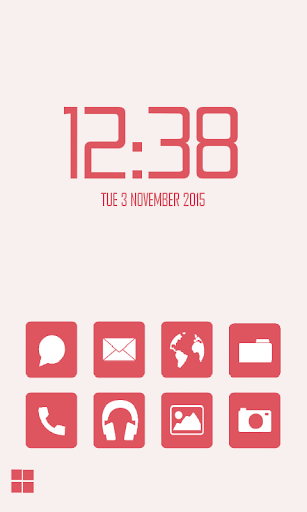 Redberry Smart Launcher Theme