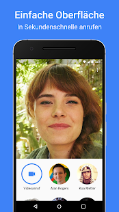 Google Duo – Miniaturansicht des Screenshots