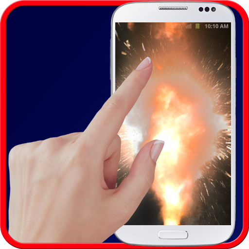 Explosion screen simulator Icon