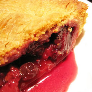 Triple Berry Pie.