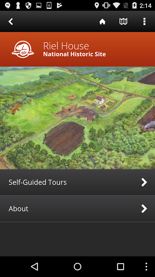 Riel House Guided Tour- screenshot