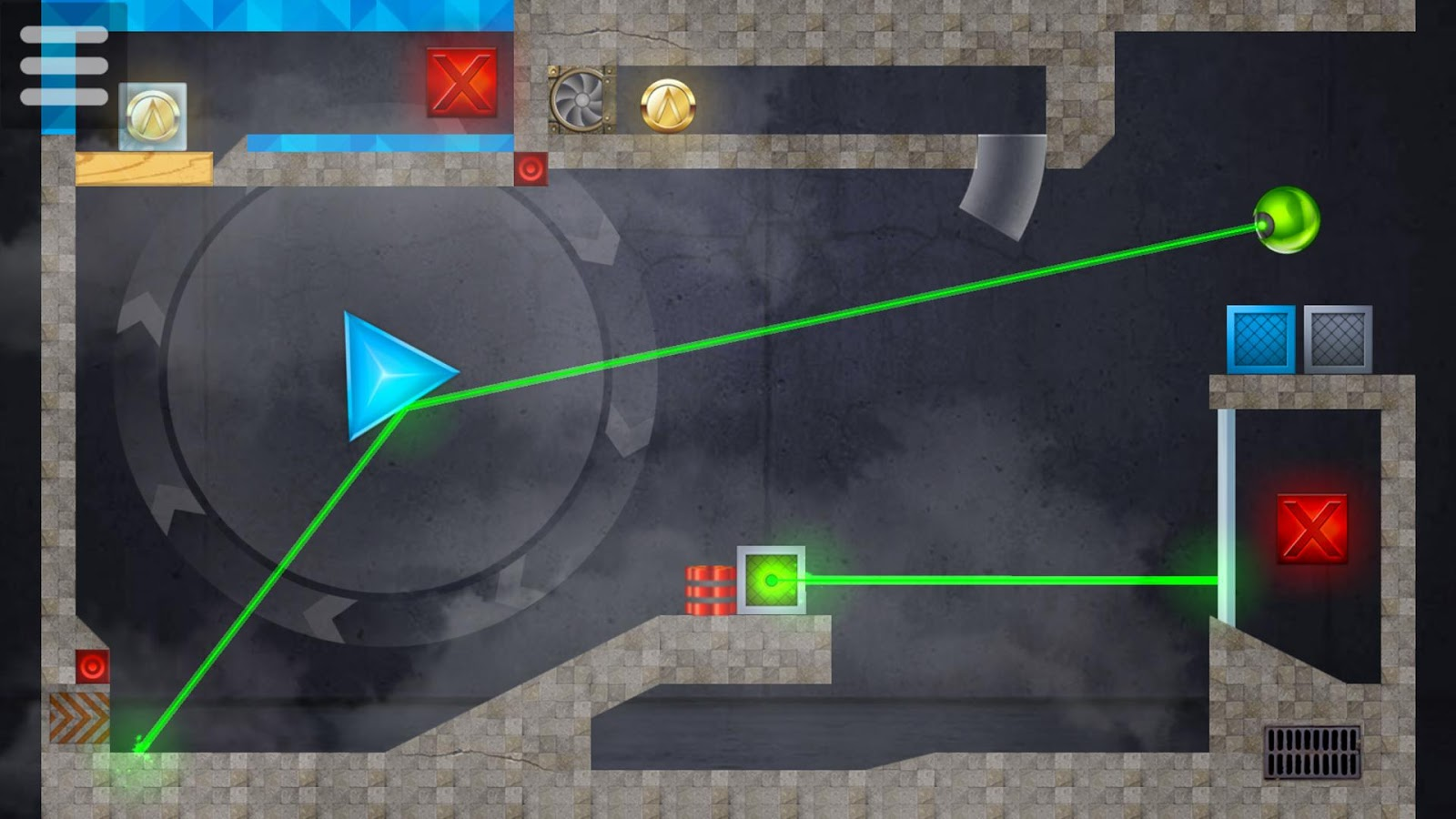 LASERBREAK 2 - Free Physics Laser Block Puzzle- screenshot