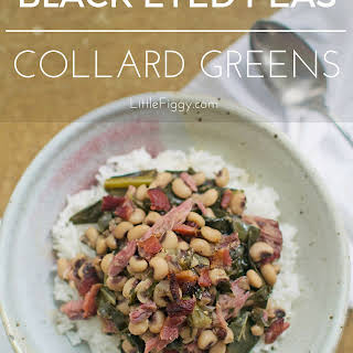 Black Eyed Peas with Collard Greens.