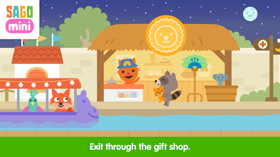 Sago Mini Zoo Screenshot