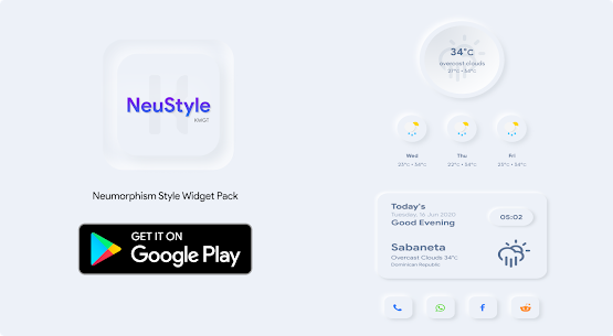 NeuStyle KWGT 1.1 Paid Latest APK Free Download 3