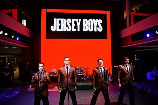 "Jersey Boys.JPG - One of the two shows you can't miss on the ship is the Broadway hit ""Jersey Boys."""