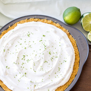 (Lighter) No-Bake Key Lime Frozen Yogurt Pie