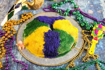 Apple Filled King Cake