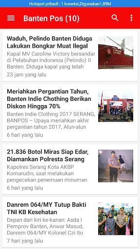 Berita Banten Terkini 1.0 screenshots 6