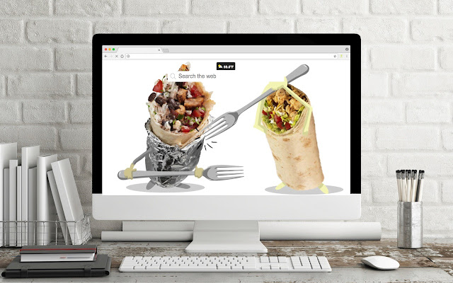Fast Food Wallpapers New Tab Theme