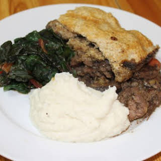 Paleo Steak and Kidney Pie.