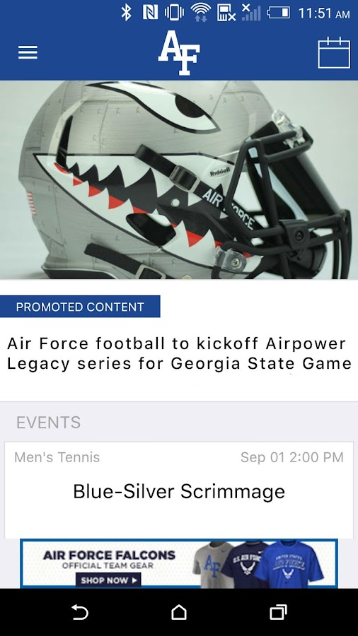 Air Force Falcons Gameday LIVE- screenshot