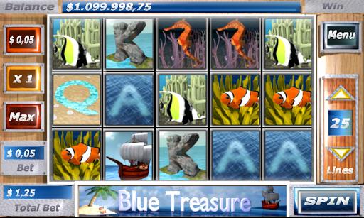 Blue Treasure Slots