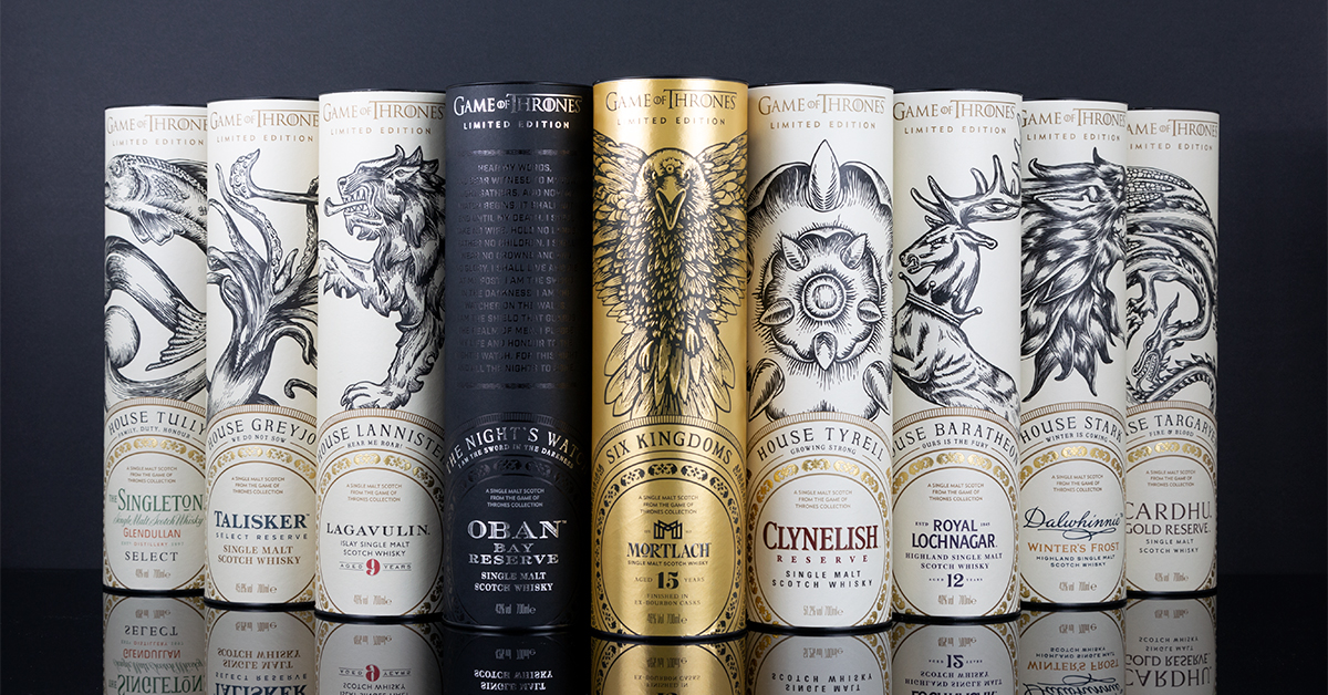 game of thrones whisky single malt edition