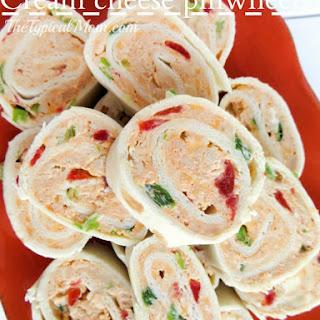 Tortilla Cream Cheese Pinwheel Appetizer Recipes.