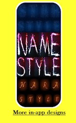 Designer - Write your name with fire APK screenshot thumbnail 2