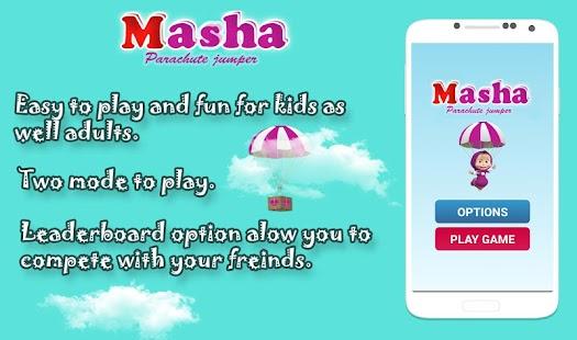 Masha Parachute screenshot