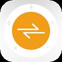 Calvertr - Converter with Percentage Calculator icon