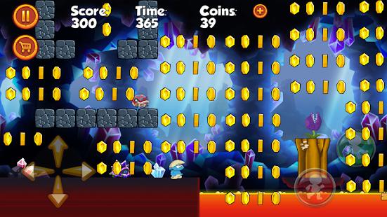Super Smurf Run Adventures - náhled