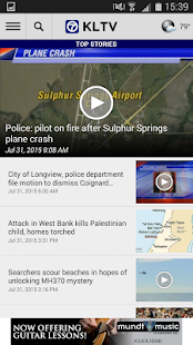 KLTV 7 News- screenshot thumbnail
