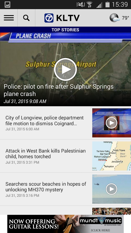 KLTV 7 News- screenshot