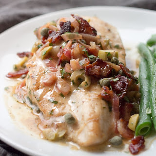 Pan Seared Chicken Breast with Sauce.