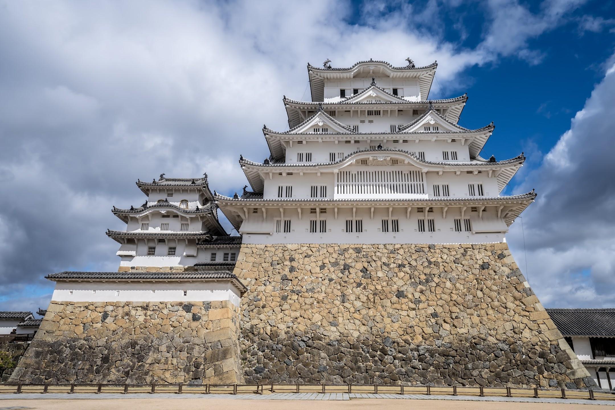 Himeji Castle castle tower3